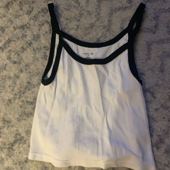 Urban Outfitters Tops - Black & White UO Crop Top
